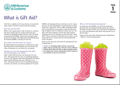 What is Gift Aid
