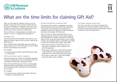 What are the time limits for claiming Gift Aid?
