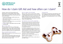 How do I claim Gift Aid and how often can I claim?